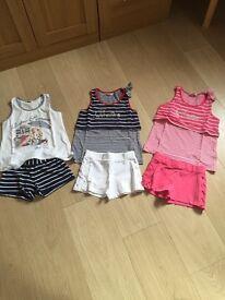 Girls bundle shorts set