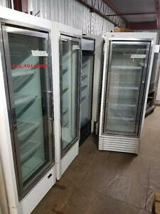 Hussman Congelateur 1 porte Vitree,  Glass Door Commercial Freezer  PERFECT