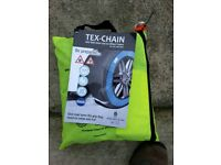 Tex - Chain Anti skid snow & ice tyre covers