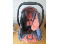 McLaren Recaro car seat with spare covers