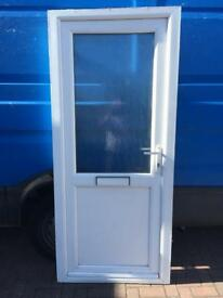 Used Upvc White Front Door
