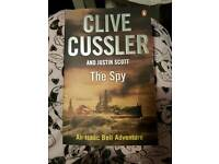 Clive cussler the spy book
