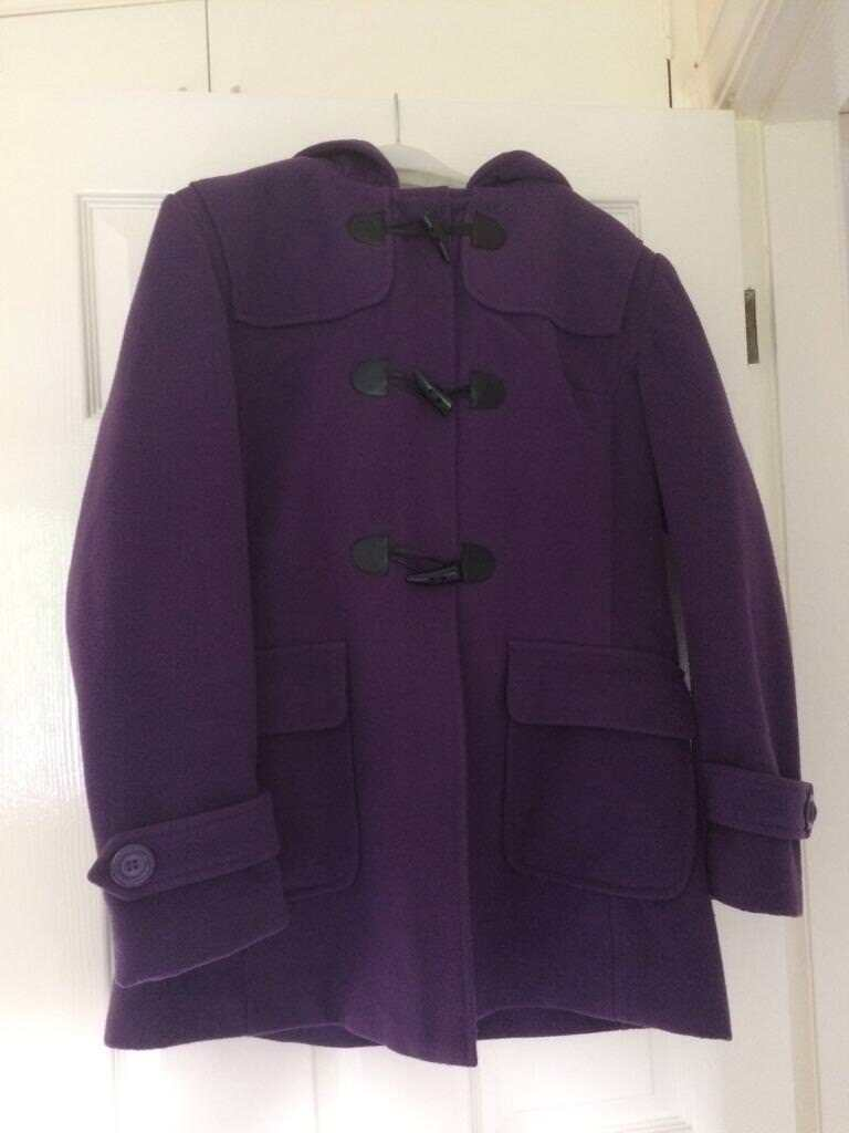 Ladies purple duffle coat | in York, North Yorkshire | Gumtree