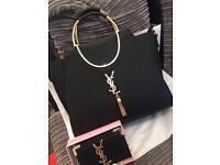 YSL handbag and purse for sale