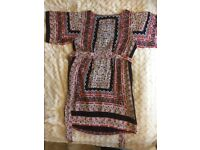 MONSOON TUNIC SIZE 14 PAISLEY/FLORAL