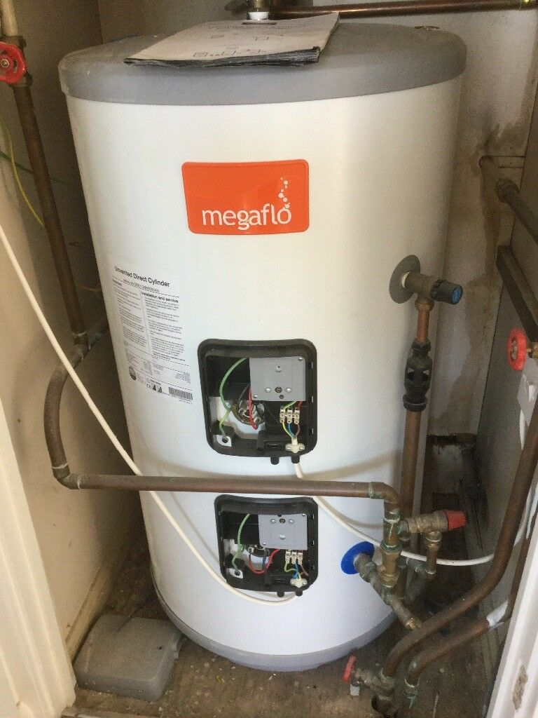 Megaflo unvented direct hot water cylinder 125 litre | in ...