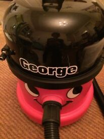 Vacuum cleaner - George multiple use for wet and dry cleaning with all attachments - little used