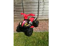 Electric quad bike in very good condition