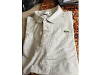 Lacoste tshirt it's a size 6 brand new