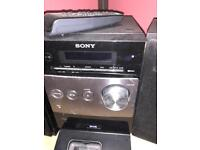 SONY stereo with remote and aux