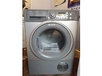 8kg silver hotpoint condensor dryer