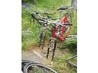 These are to be proget on but thay good bike frame