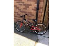 24 inch Apollo fs 24 mountain bike cheap