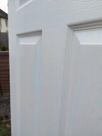 4 white door plus handles