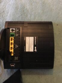 BT Homehub 2.0 with power lead collection from Bletchley