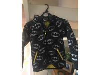 Boys batman coat, worn twice