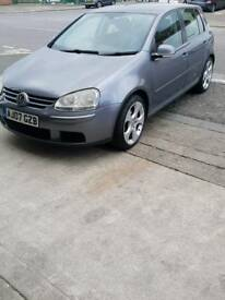Vw Mk5 Golf 07 plate For Sale