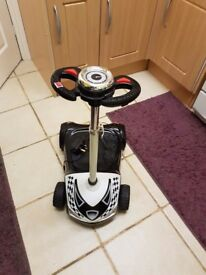 4 wheels electric scooter