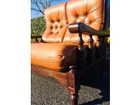 Jaycee Vintage Leather   Wooden Design Frame