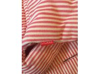 Stokke Tripp Trapp cushions - red/cream candy striped