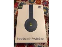 Apple Beats Solo 3 wireless headphones by Dre iPhone android brand new like airpods