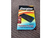 Power Bank Portable Charger Energizer (integrated cable) 4000mAh