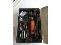 genuine fein tool with case used..multimaster 240volt with accessories