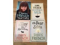 Dawn French books (two unread)