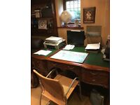 French reproduction desk