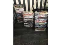 50 dvds perfect condition 0no