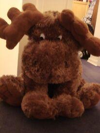 Large Moose Teddy