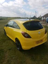 Corsa 1.2 cheap 3 door limited edition