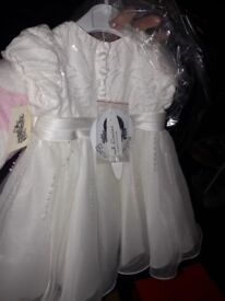 Christening dress 0 to 3 months