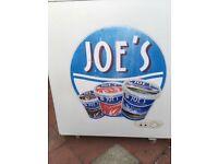 BRANDED ( JOE'S icecream ) FREEZER