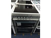 New Ex-Display Flavel Millano ML61CDS 60cm Electric Ceramic Cooker Silver £249