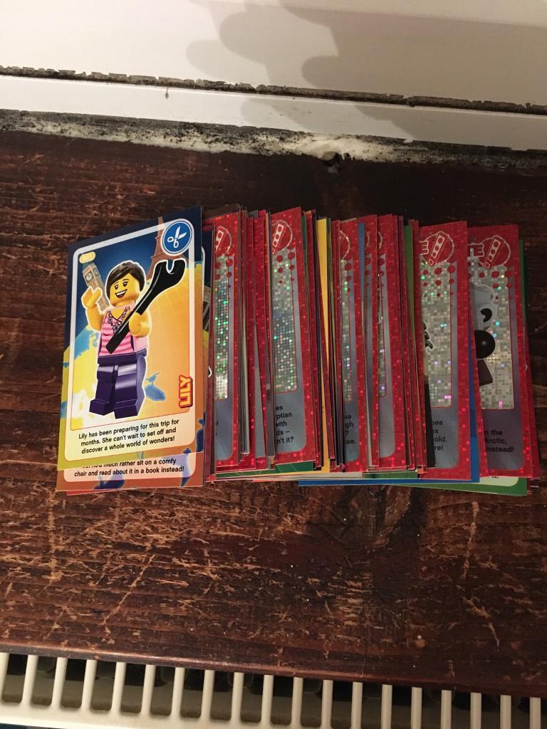 Lego cards- complete set