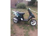 Piaggio typhoon 172 swap / sale gilera nrg zip 180 125