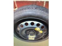 WANTED Vauxhall Mokka space saver wheel and tool kit in good condition.