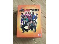 Big Bang Theory Complete Seasons 1-5