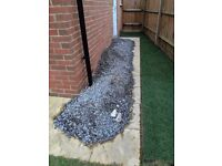 Dark gravel ( about half a ton), £15 collection only ( Longfield, Kent)