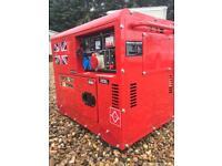 22.5 Perkins key start twin cylinder diesel generator