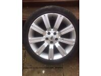 Range Rover 20 Inch Stormer Alloy Wheels With Tyres VW Transporter