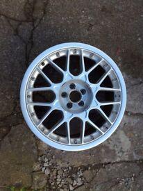 """Audi TT BBS rs2 genuine 18"""" x1 alloy"""