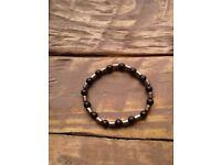 Elasticated Bracelet / Balancing Bracelet / Onyx Bracelet / Pyrite Bracelet / Gemstone Bracelet