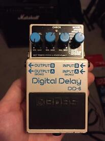 Boss DD-6 Digital Delay - guitar effects pedal