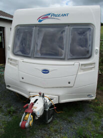 2007 Bailey Pageant series 6 Vendee with Fixed bed/ motor mover and full awning