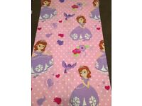 Sofia the first cot bed duvet cover & pillowcase