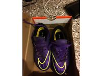 Nike size 11 junior football boots