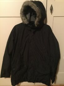 Barbour Boys Coat Black - Great condition