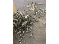 More than 150 Slatwall Hooks as you see in the pictures